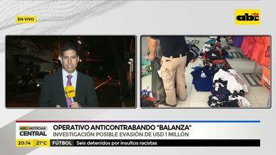 "Operativo anticontrabando ""Balanza"""