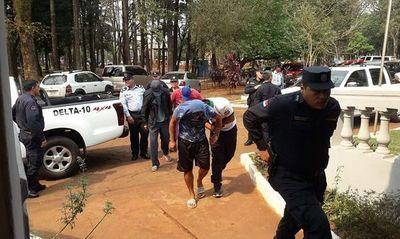 12 detenidos por los incidentes en la Aduanas del Este