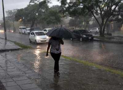 Meteorología anuncia precipitaciones para este jueves