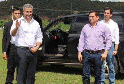 Marito va a Paraguarí pero ninguneó al gobernador