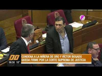 Confirman condena a Víctor Bogado y a su niñera de oro