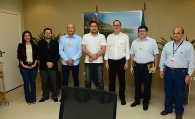Municipalidad de CDE e Itaipú acuerdan trabajo conjunto
