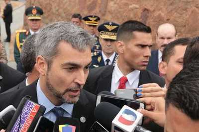 "¿Ulises dejó de ser candidato de Añetete?: ""Hay que preguntarle a él"", respondió Abdo Benítez"