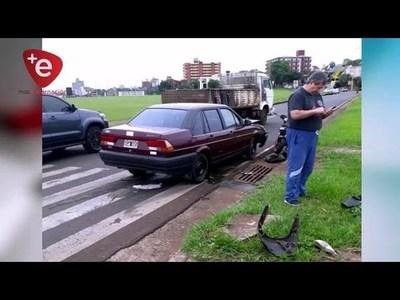 MOTOCICLISTA GRAVE TRAS ACCIDENTE Y FAMILIARES DENUNCIAN SUP. OMISIÓN DE AUXILIO