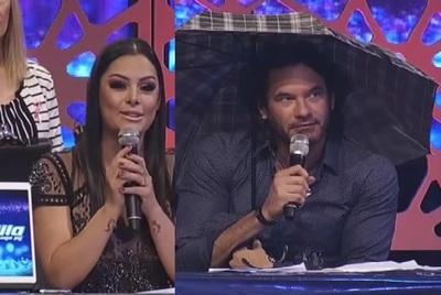 Larissa Riquelme y Mario Cimarro no vieron resbalones por la emoción
