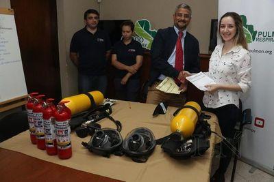 Entregan equipos para combatir incendios forestales