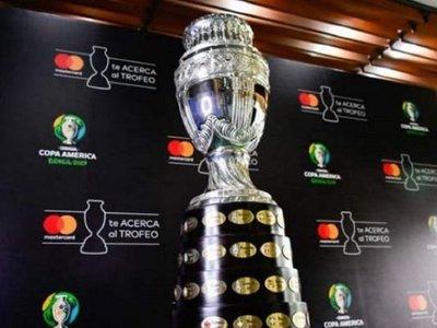 Dan a conocer el logo oficial de la Copa América 2020