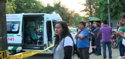 Ambulancia entró en contramano y mató a peatona sobre Mcal. López