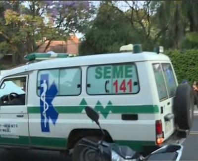 Mujer falleció tras ser arrollada por ambulancia