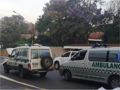 Ambulancia protagoniza accidente fatal en avenida Mariscal López