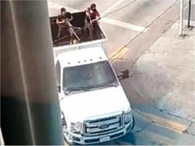Balacera en Culiacán tras supuesta detención de hijo de El Chapo