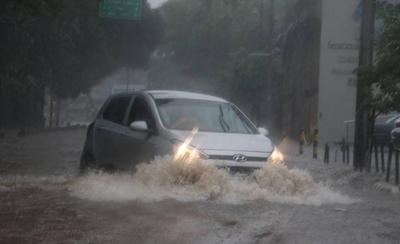 HOY / Alerta de tormentas para Central y varios departamentos
