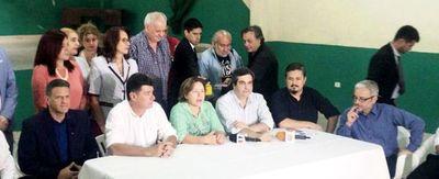 PLRA apuesta a  Cortés en Asunción y  FG por Querey