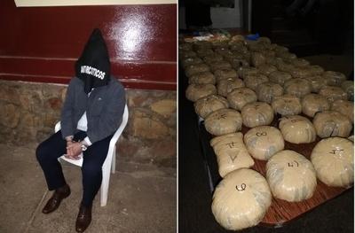 Ex diplomático paraguayo detenido con marihuana en Guarambaré