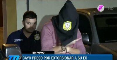 Detienen a un hombre por extorsionar a su ex con imágenes íntimas