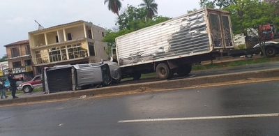 Chófer de IPS provocó grave accidente y dio positivo a alcotest