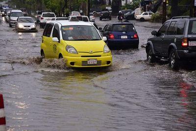 Tormentas seguirán en ocho departamentos, según Meteorología