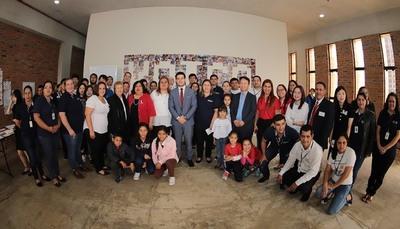 Educadores del Ministerio de la Niñez implementan nuevo manual al Programa Abrazos