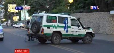 Imputan a chofer de ambulancia tras muerte de mujer sobre Mcal. López