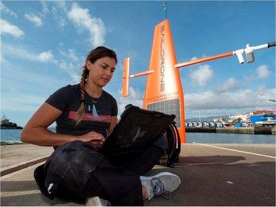 Dos veleros robotizados miden la huella del cambio climático en el Atlántico