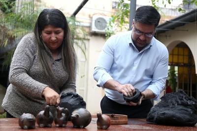 Inauguran horno itinerante para talleres prácticos de cerámica