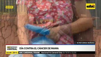 Conmemoran el día de lucha contra el cáncer de mama