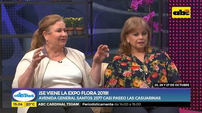 ¡Se viene la Expo Flora 2019!