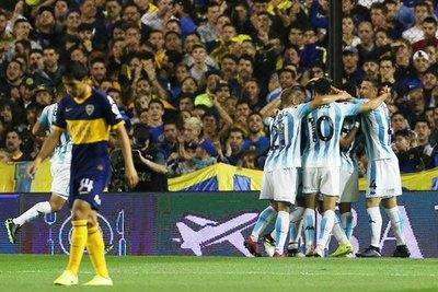 Con gran actuación de Matías Rojas, Racing venció a Boca