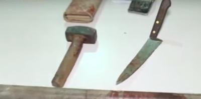 Terrible crimen: Mujer es asesinada a mazazos y puñaladas