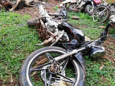 Salud alerta sobre alarmantes cifras de accidentes de motos en Central