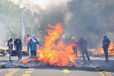 Al menos 308 detenidos y más de 150 heridos durante represiones en Chile