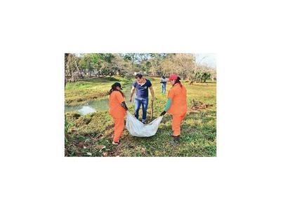 Comuna busca que Itaipú ayude a recuperar el arroyo Amambay