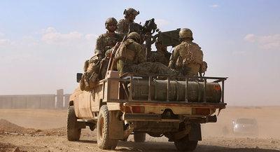 Сamiones entran en Siria para evacuar a militares estadounidenses