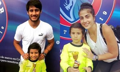 El hijo del jugador Iván Torres sigue sus pasos