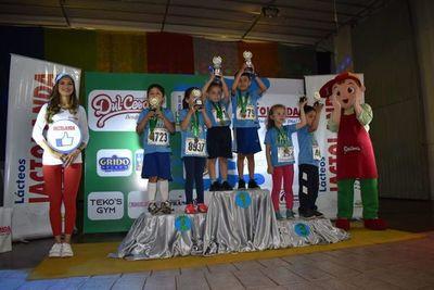"""Corrieron """"por la vida"""" en San Lorenzo"""