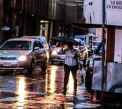 Alertan a 12 departamentos por posible tiempo severo