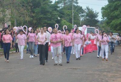 Misiones: Marcha y desfile de carrozas por Octubre Rosa