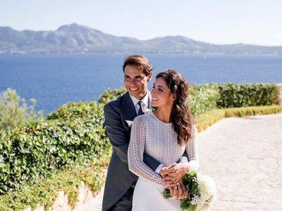 Las fotos e invitados de la discreta boda de Rafael Nadal y Mery Perelló