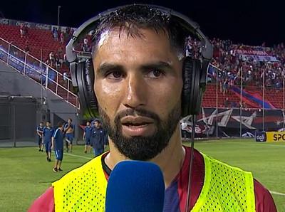 Alberto Espínola, figura en el triunfo de Cerro contra San Lorenzo