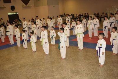 Competencia de taekwondo en San Ignacio