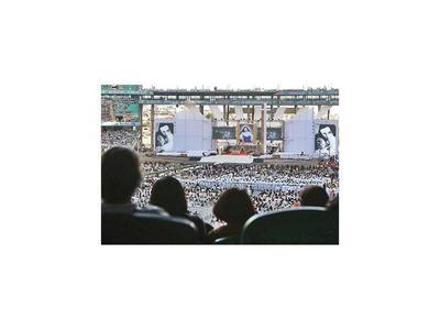 50.000 personas homenajean a la primera santa de Brasil