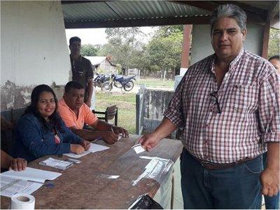 TSJE oficializa candidatos a intendente en San Carlos del Apa