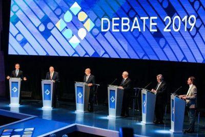 Macri y Fernández se enzarzan en un debate electoral a siete días de comicios