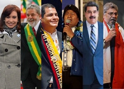 """La """"brisa bolivariana"""" que desató el Grupo de Puebla"""