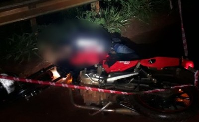 Motociclista muere tras recibir un disparo en la cabeza