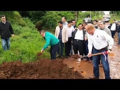 INICIA CONSTRUCCIÓN DE UN NUEVO PUENTE QUE UNIRÁ CAMBYRETÁ CON ENCARNACIÓN