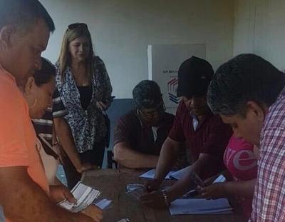 Legitimaron candidaturas en San Carlos