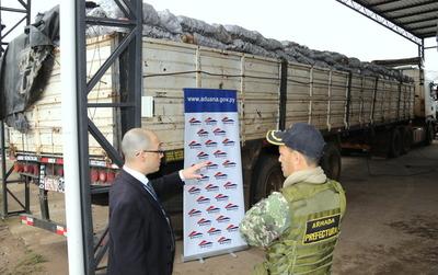 Mediante operativo decomisan 35 toneladas de papa en Villa Hayes