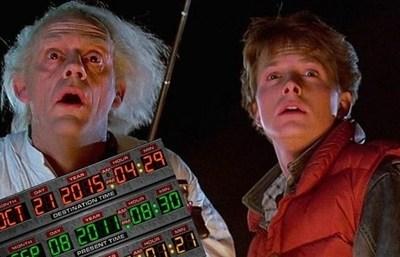 Hoy hace cuatro años, Marty McFly llegó al futuro. Es tendencia en las redes sociales