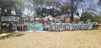 Botánico: Fuerzas policiales reprimen a manifestantes
